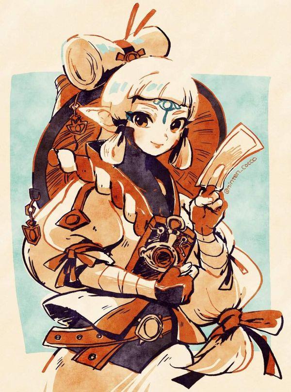 【ゼルダの伝説 ブレスオブザワイルド】インパのエロ画像【ゼルダ無双 厄災の黙示録】【32】