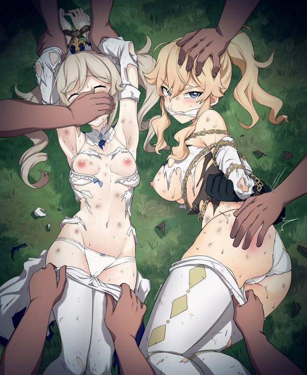【嗜虐】気の強そうな女の子がレイプされてる二次エロ画像【10】