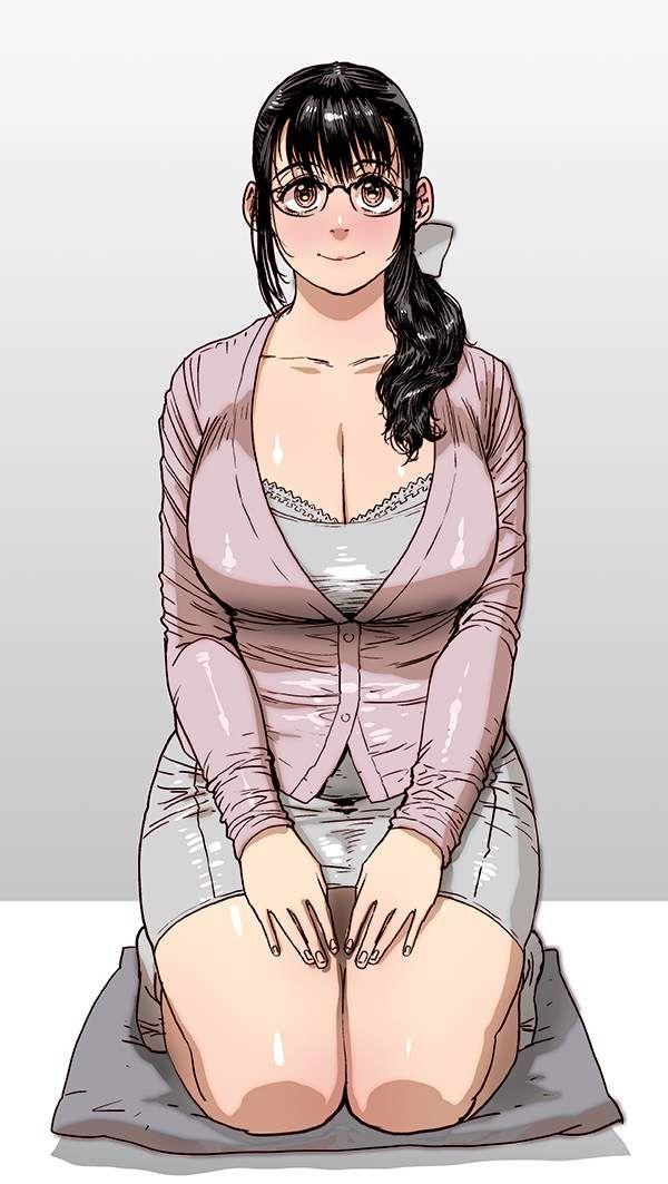 【PTAの人】メガネ熟女の二次エロ画像【27】