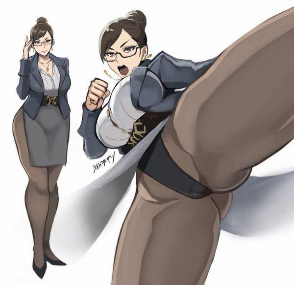 【PTAの人】メガネ熟女の二次エロ画像【34】