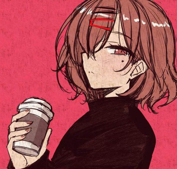 【あったか~い】コンビニコーヒーと美少女の二次画像【13】
