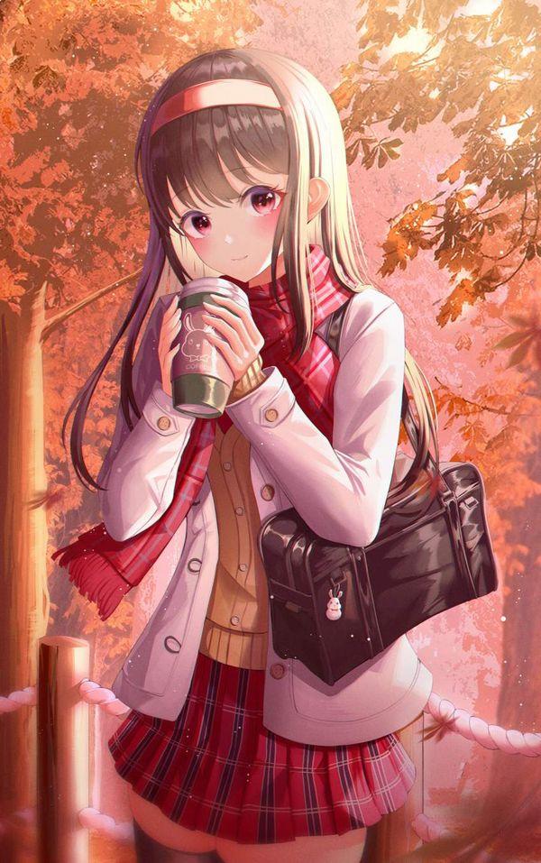 【あったか~い】コンビニコーヒーと美少女の二次画像【27】