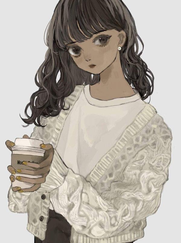 【あったか~い】コンビニコーヒーと美少女の二次画像【33】