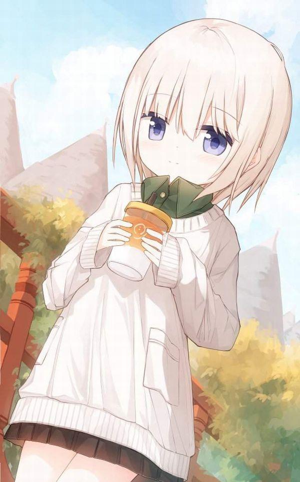 【あったか~い】コンビニコーヒーと美少女の二次画像【37】