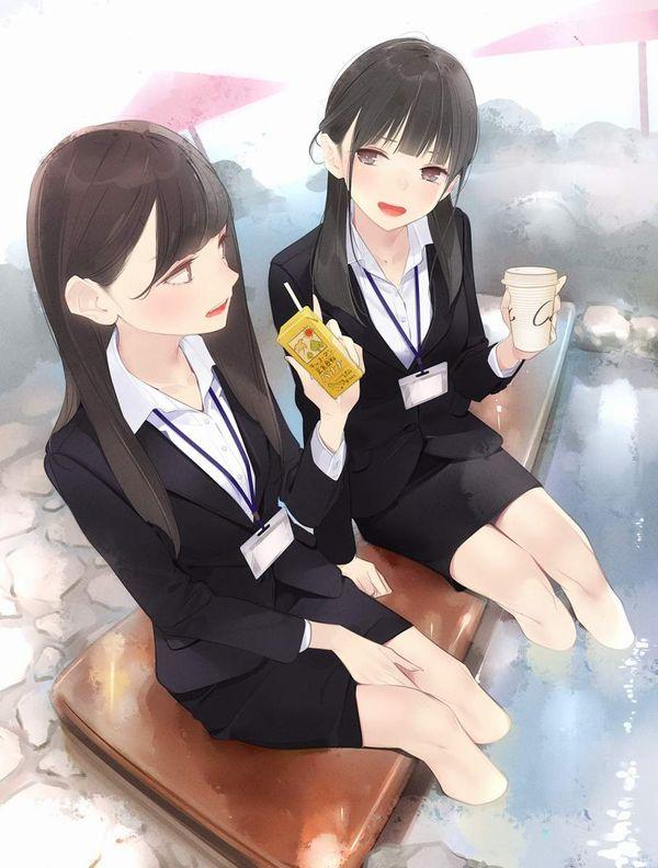 【あったか~い】コンビニコーヒーと美少女の二次画像【39】