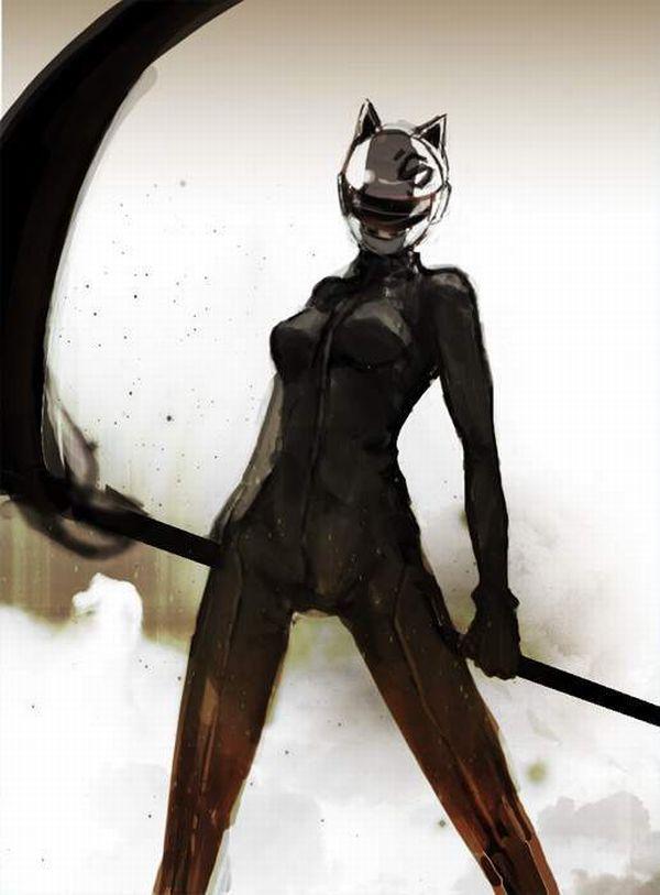 【デュラララ!!】セルティ・ストゥルルソン(Celty Sturluson)のエロ画像【43】