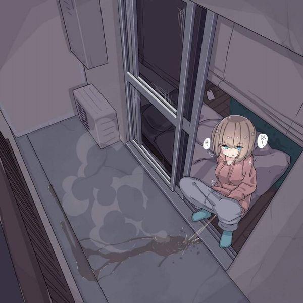 【ジモ着】スエットパンツ履いた女子の二次エロ画像【4】