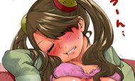 【そっと見守ろう】寝ている女性のナチュラルに見えてる乳首を愛でる二次エロ画像