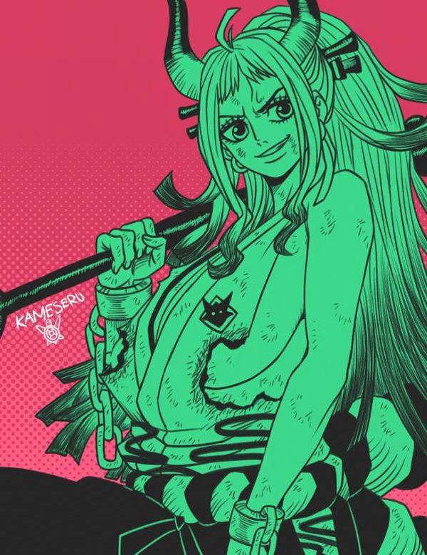 【ONEPIECE】ヤマトのエロ画像【ワンピース】【31】