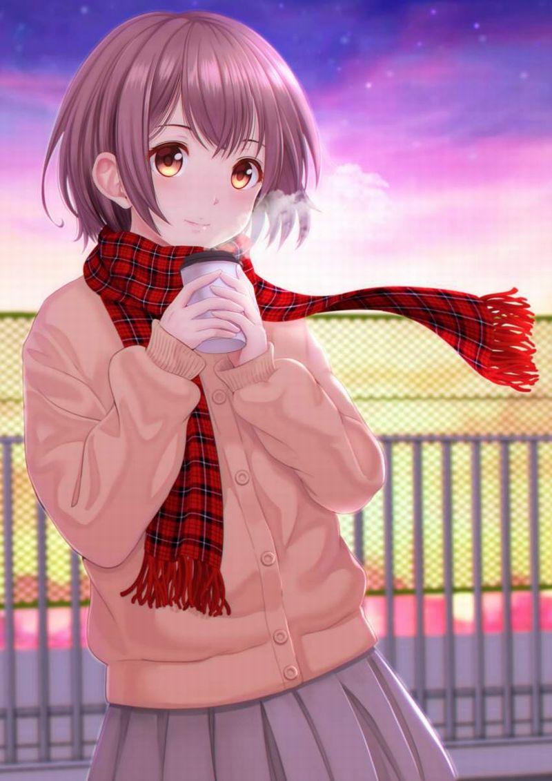 【冬だから】白い息を口から吐き出す女子達の二次エロ画像【10】