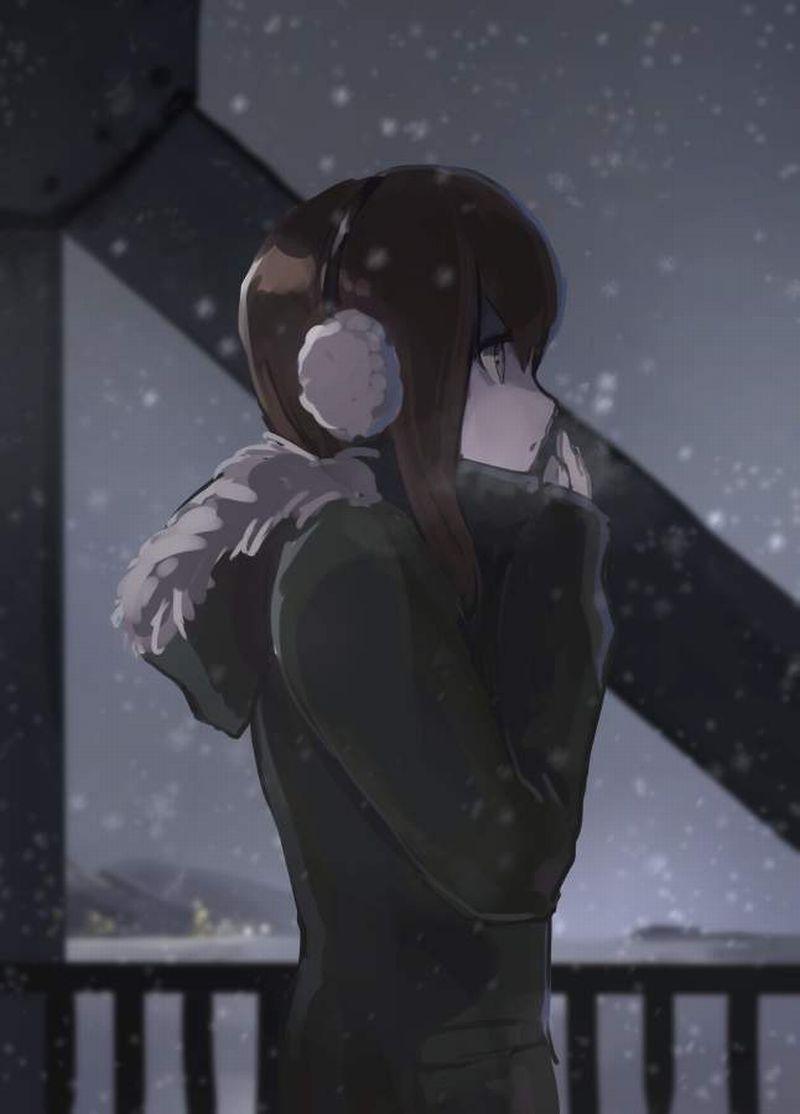 【冬だから】白い息を口から吐き出す女子達の二次エロ画像【13】