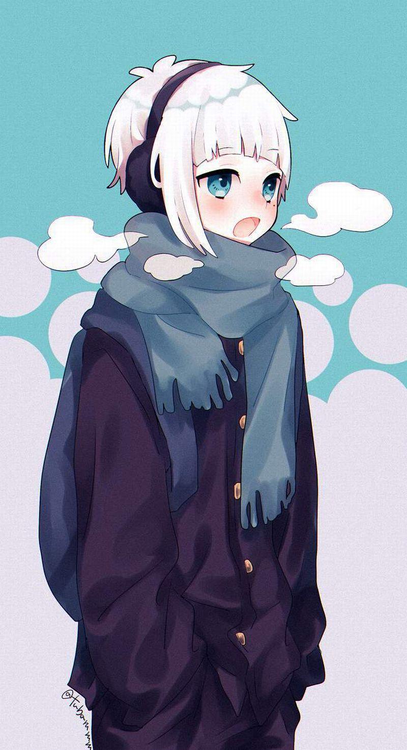 【冬だから】白い息を口から吐き出す女子達の二次エロ画像【25】