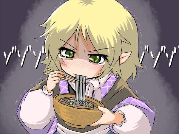【年越し】蕎麦を食べてる女子達の二次画像【26】
