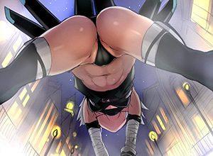 【|・ω・*)チラ】Tバックの横から肛門が少しだけ見えてる二次エロ画像