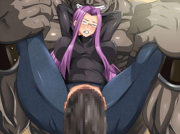 【企画物AVあるある】ジーパンの股部分に穴を開けてセックスしてる二次エロ画像【11】