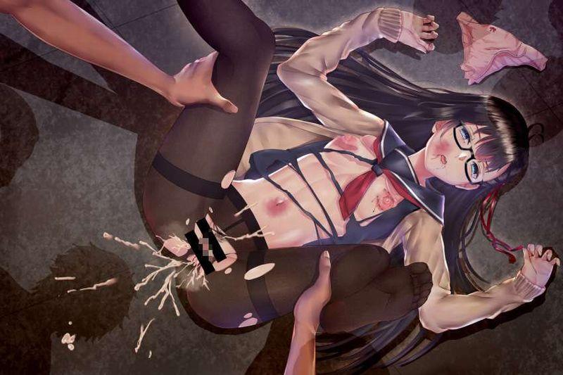 【痛々しい】激しい暴行を受け全身痣だらけになってる二次エロ画像【38】