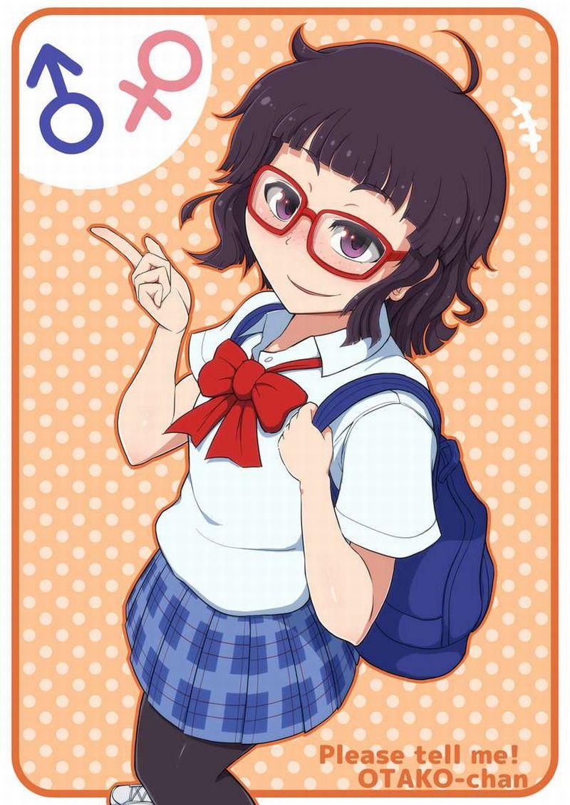 【おしえて!ギャル子ちゃん】オタ子のエロ画像【23】