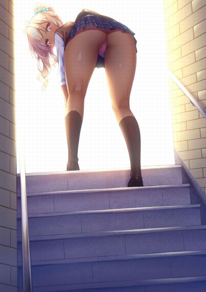 【ォライッ、ォライッ】DQNっぽい女の子の二次エロ画像【30】