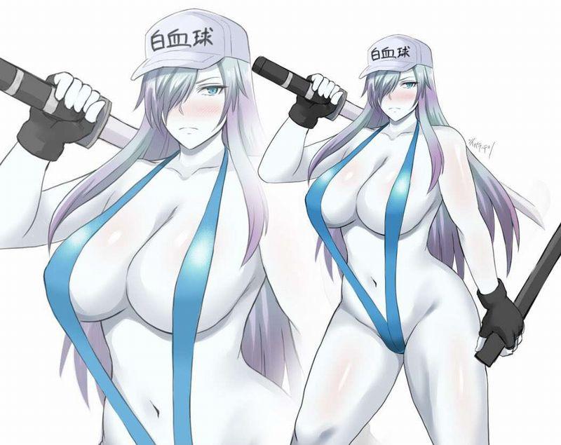 【はたらく細胞BLACK】白血球(はっけっきゅう)1196のエロ画像【32】