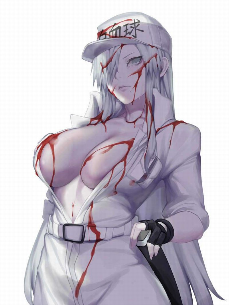 【はたらく細胞BLACK】白血球(はっけっきゅう)1196のエロ画像【36】