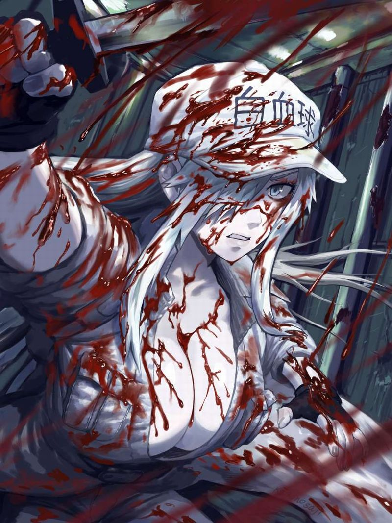 【はたらく細胞BLACK】白血球(はっけっきゅう)1196のエロ画像【45】