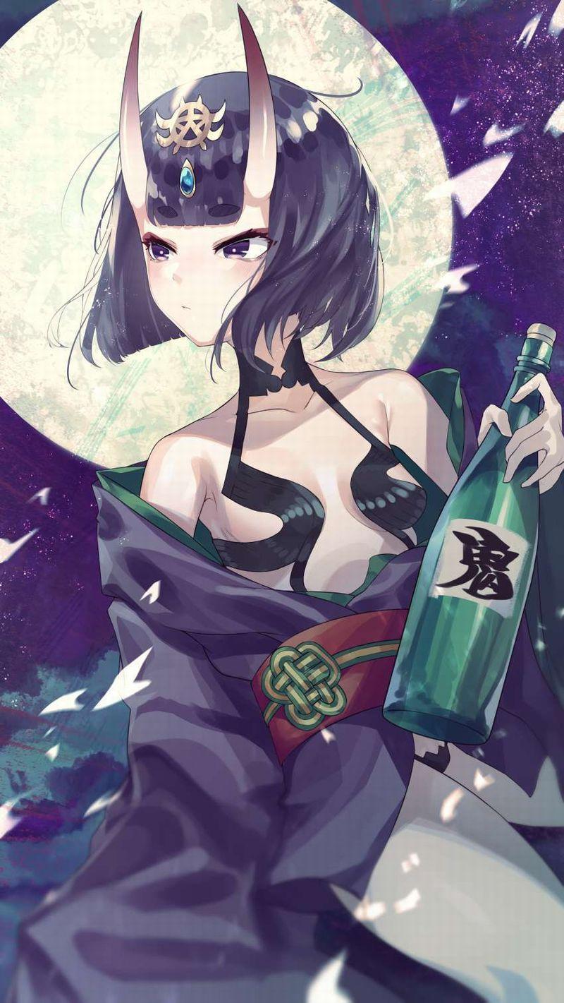 【ガチの酒呑み】日本酒の一升瓶と大和撫子の二次エロ画像【26】