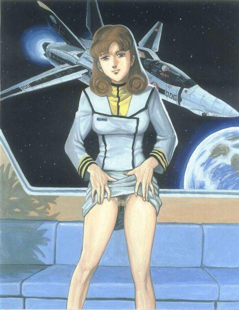 【超時空要塞マクロス】早瀬未沙(はやせみさ)のエロ画像【3】