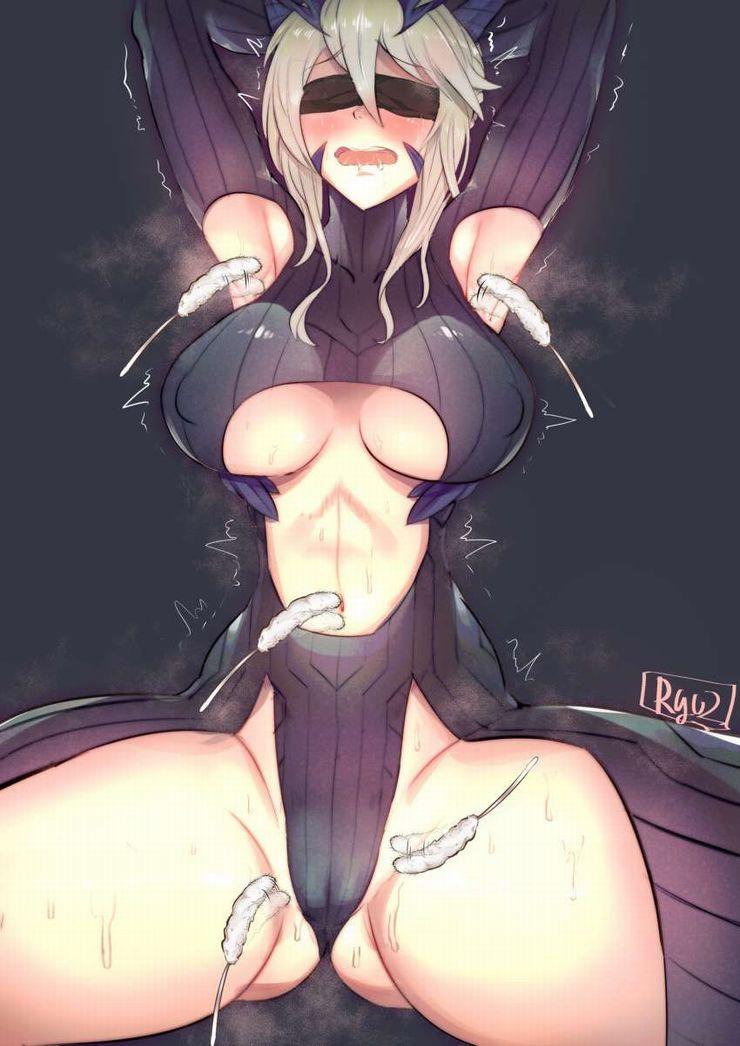 【軽い拷問】腋の下をくすぐられる女子達の二次エロ画像【19】