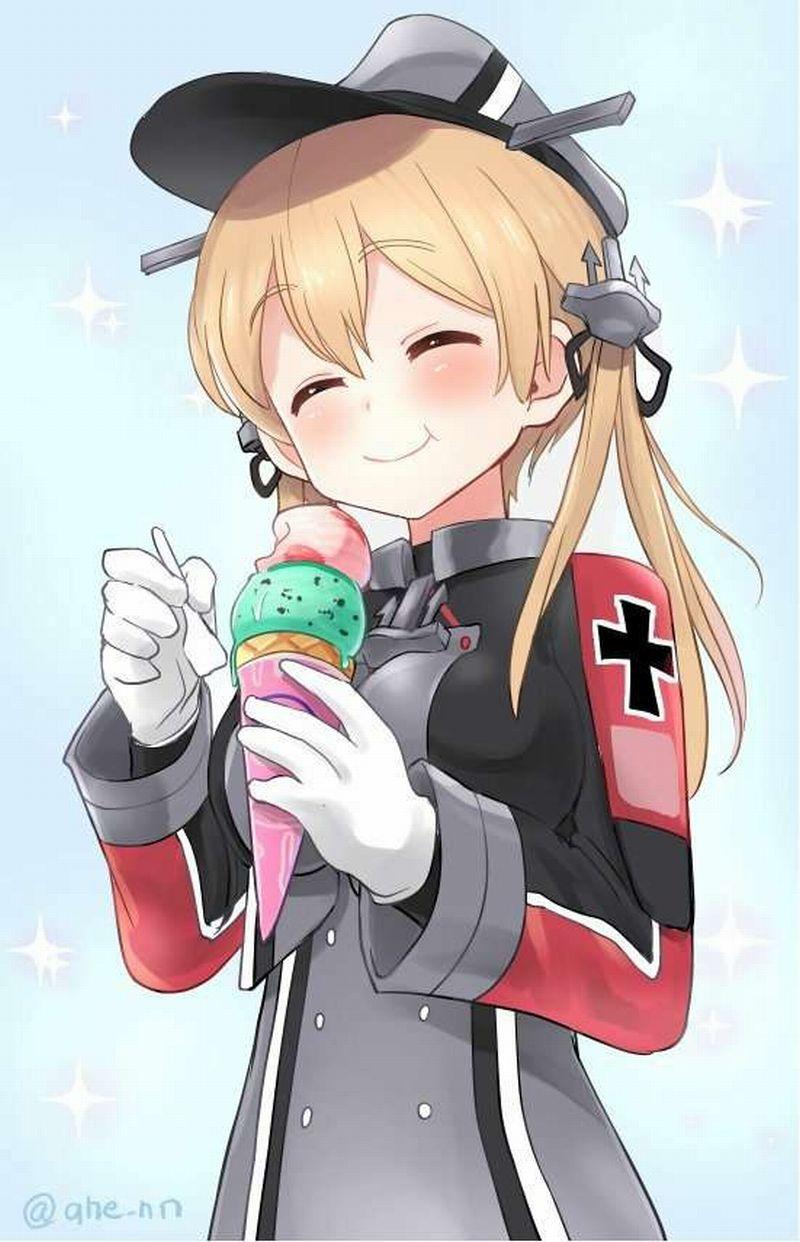 【2月19日はチョコミントの日】チョコミントアイスと女の子の二次画像【13】