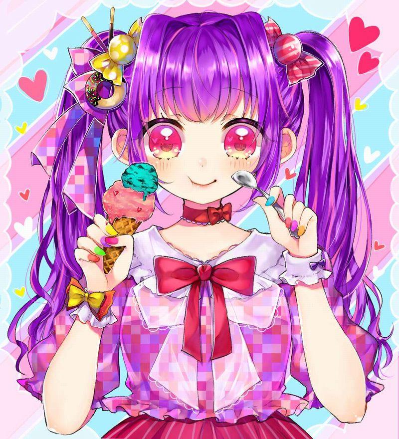 【2月19日はチョコミントの日】チョコミントアイスと女の子の二次画像【27】