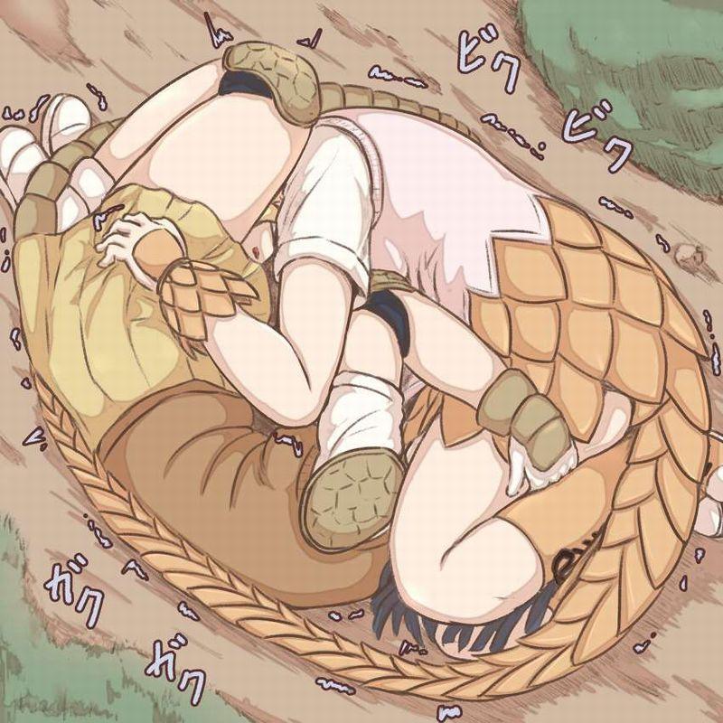 【けもフレ】オオアルマジロ&オオセンザンコウの二次エロ画像【けものフレンズ】【2】