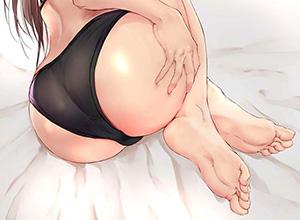 【漏れそうなの?】お尻を手で押さえる女子達の二次エロ画像【漏らしたの?】