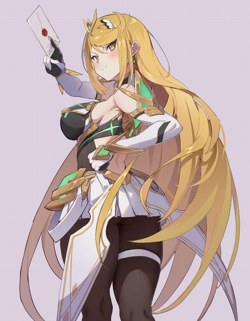 【ゼノブレイド2】ヒカリ(Mythra)のエロ画像【Xenoblade2】【29】