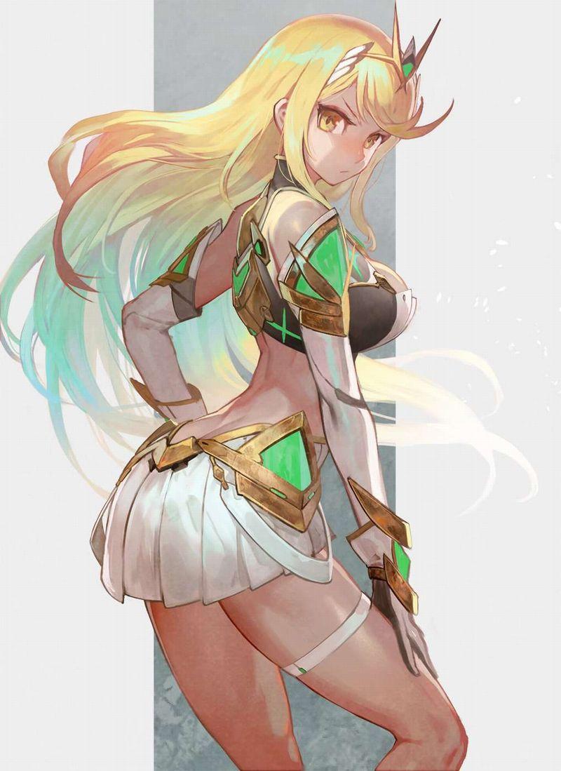 【ゼノブレイド2】ヒカリ(Mythra)のエロ画像【Xenoblade2】【39】
