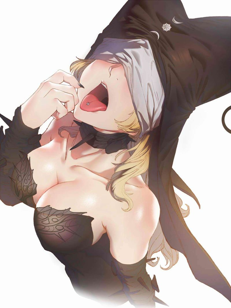 【スリリングフェラ】舌にピアスしてる女子達の二次エロ画像【16】