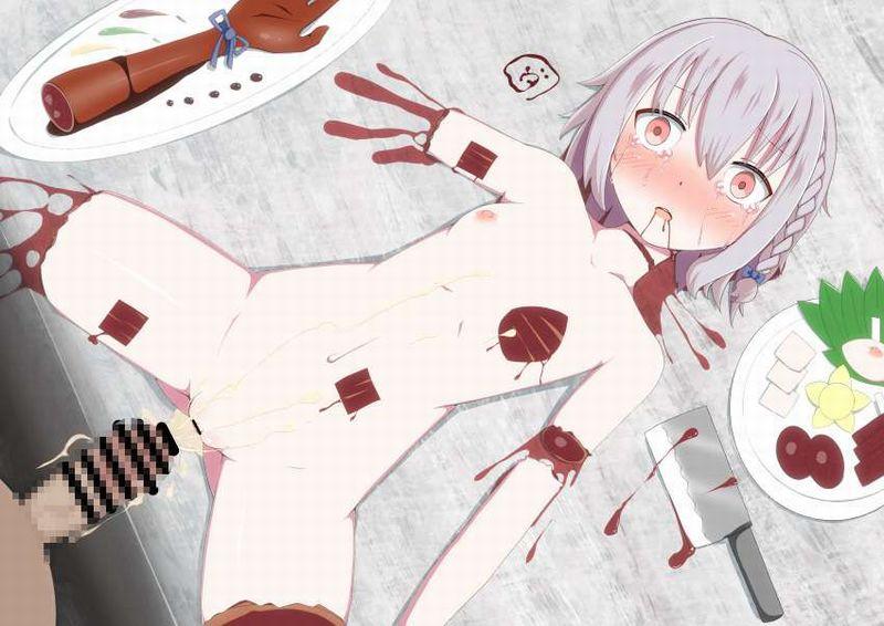 【第1部完結記念】女の子を食べてる二次エログロ画像