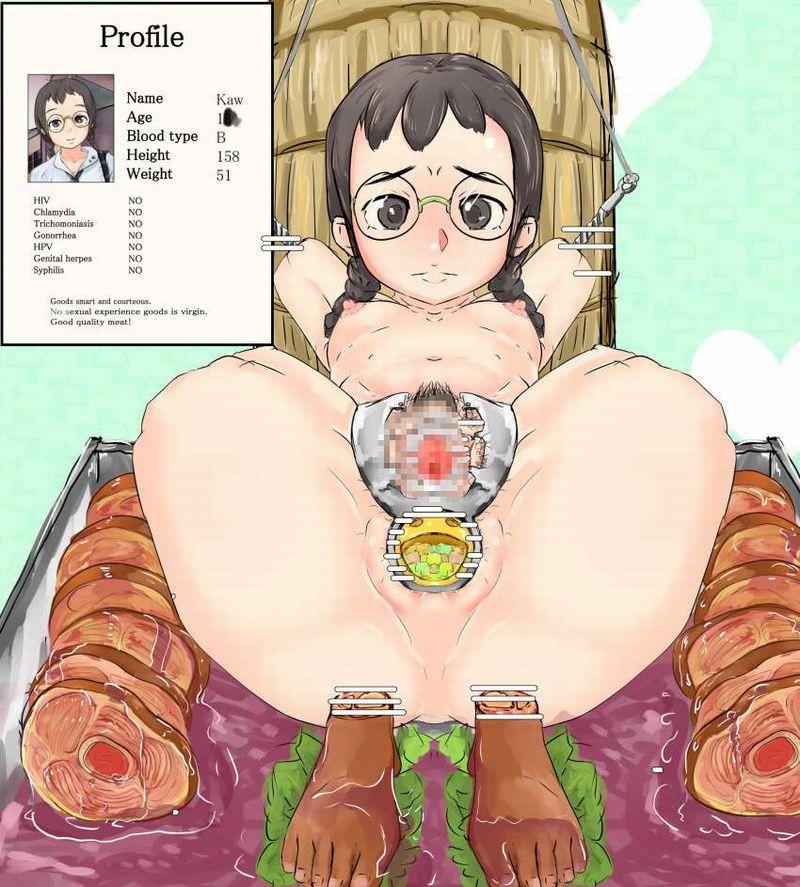 【第1部完結記念】女の子を食べてる二次エログロ画像【17】