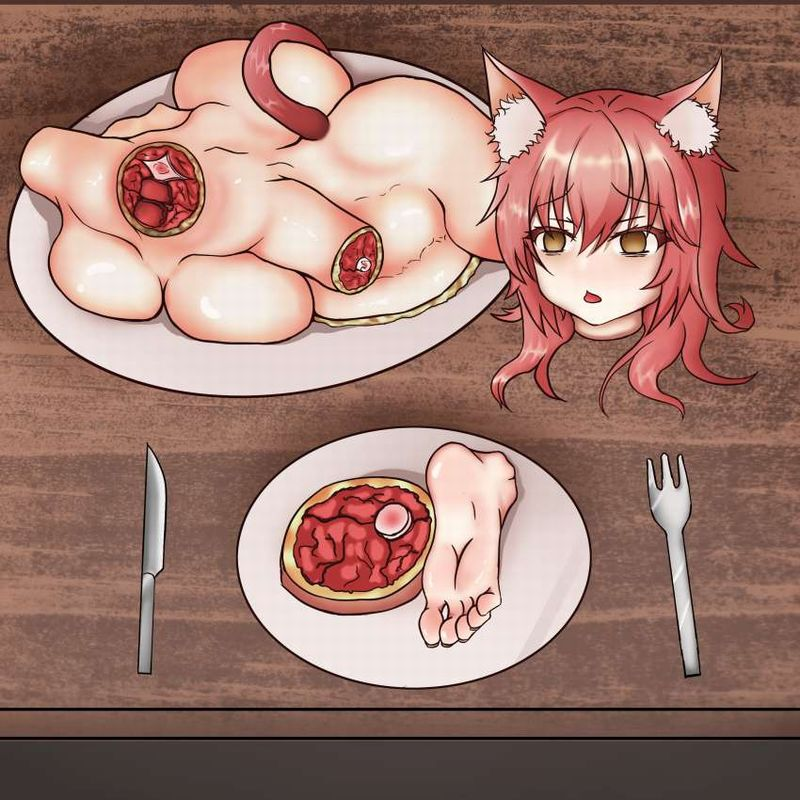 【第1部完結記念】女の子を食べてる二次エログロ画像【20】