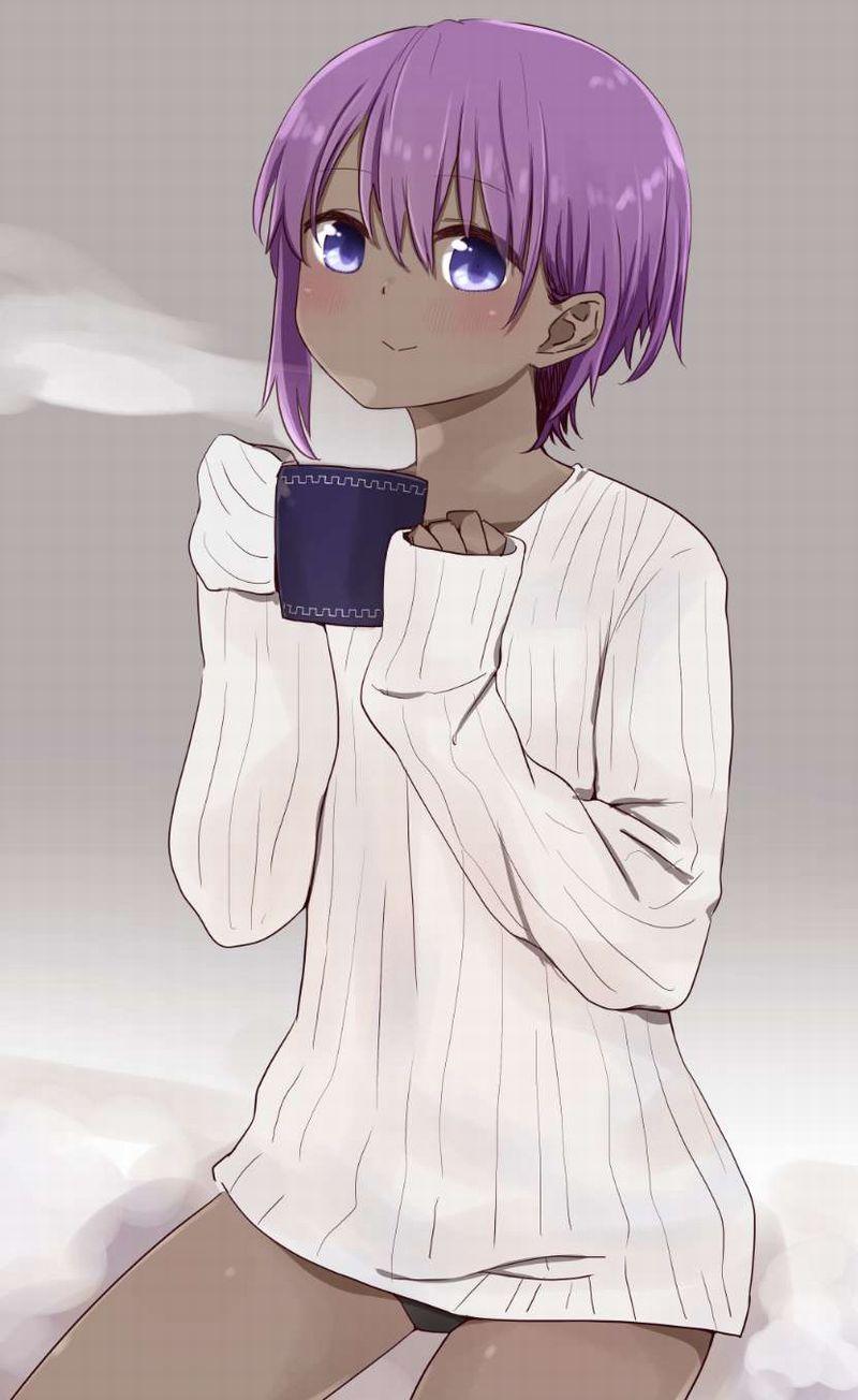 【事後の朝】コーヒーカップ持ってる女子の二次エロ画像【25】