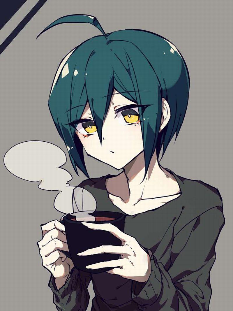 【事後の朝】コーヒーカップ持ってる女子の二次エロ画像【35】