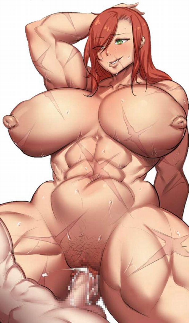 【よくしまるちつこ】筋肉女子とセックスしてる二次エロ画像【5】