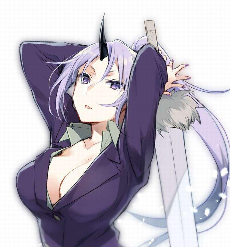 【転スラ】シオン(紫苑)のエロ画像【転生したらスライムだった件】【16】