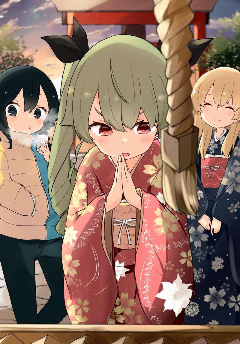 【これが運命です】手を合わせて祈る女子達の二次画像【9】