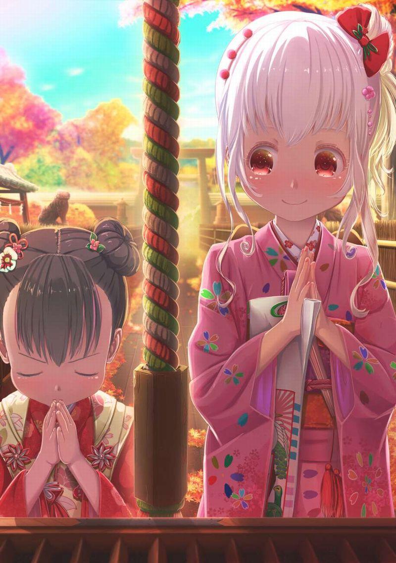 【これが運命です】手を合わせて祈る女子達の二次画像【13】