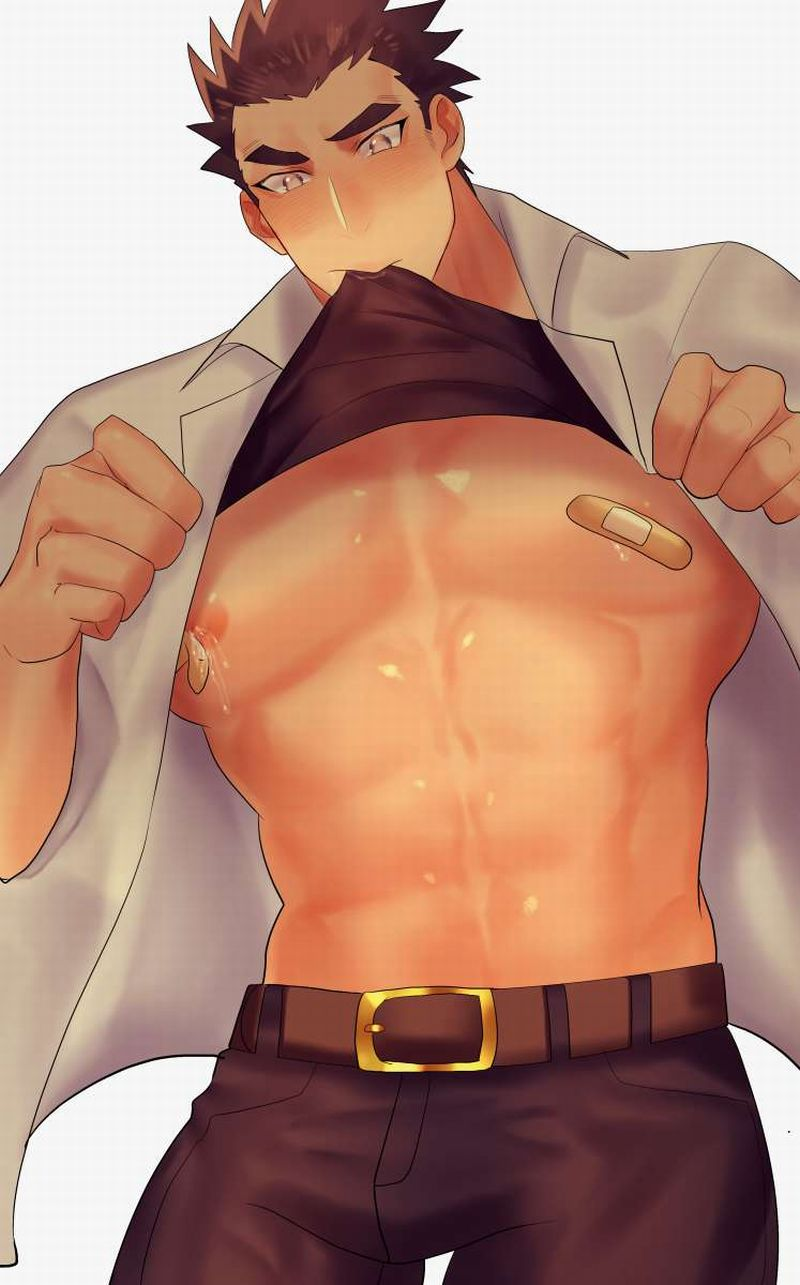 【最近のエガちゃん】乳首に絆創膏貼ってる男の子達の二次エロ画像【15】