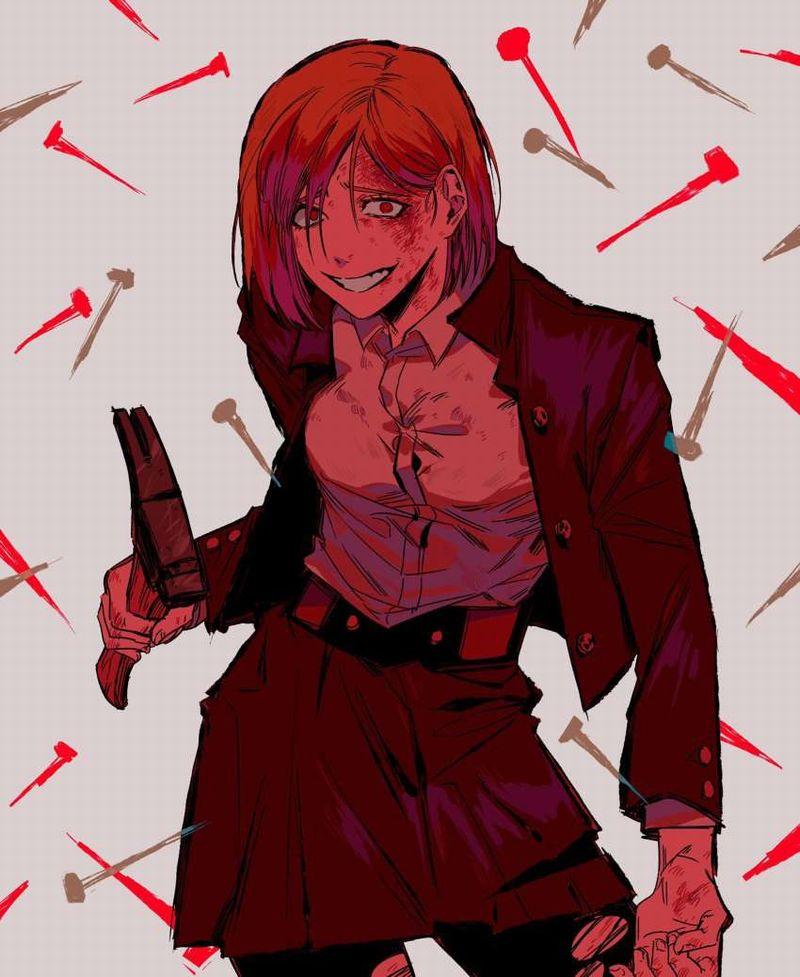 【呪術廻戦】釘崎野薔薇(くぎさきのばら)のエロ画像【17】