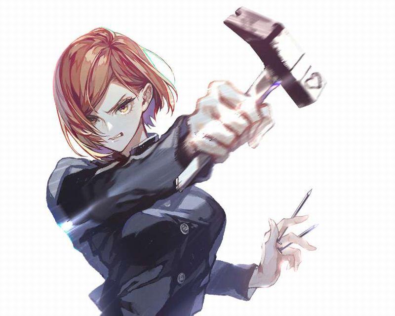 【呪術廻戦】釘崎野薔薇(くぎさきのばら)のエロ画像【24】
