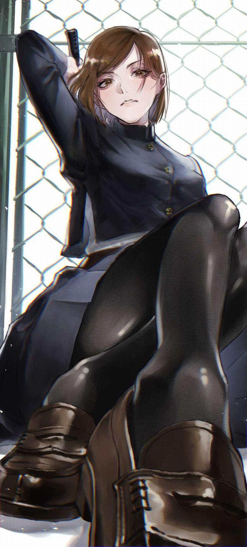 【呪術廻戦】釘崎野薔薇(くぎさきのばら)のエロ画像【32】