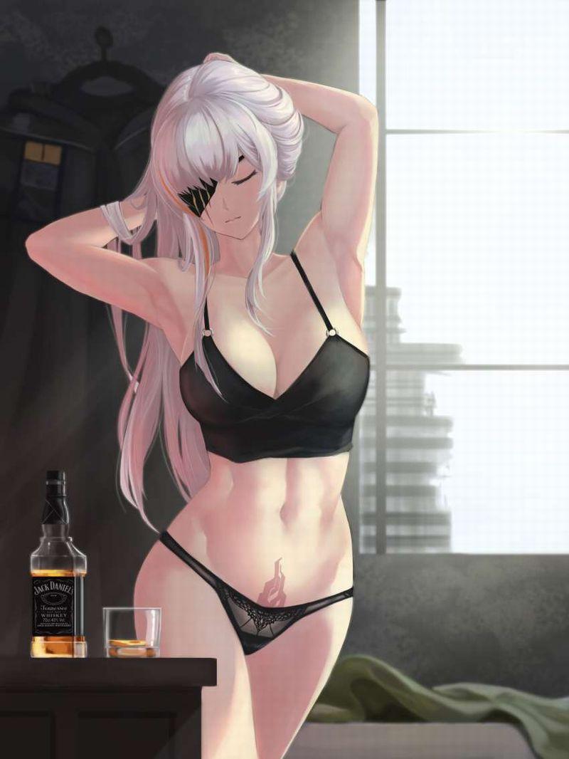 【お好きでしょ】ウイスキーを嗜む女子の二次エロ画像【35】