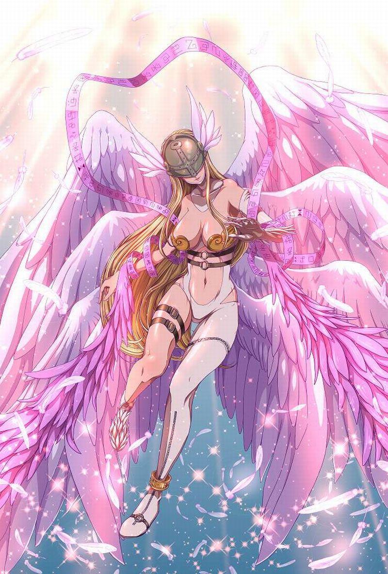 【デジモン】エンジェウーモン(Angewomon)のエロ画像【21】